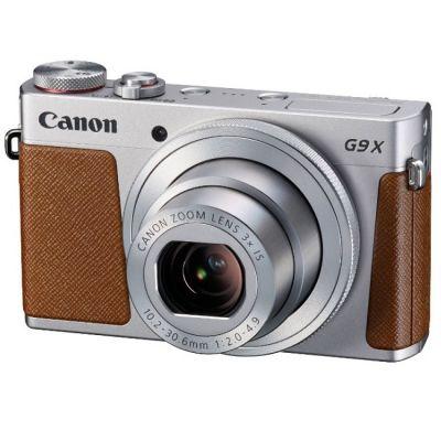 Компактный фотоаппарат Canon PowerShot G9 X silver