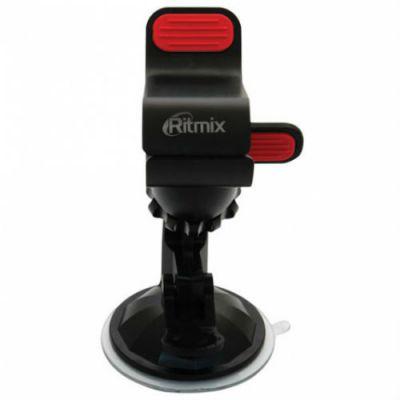 Ritmix Держатель для мобильных устройств, на стекло RCH-010W прищепка, для устройств до 110 мм 016797