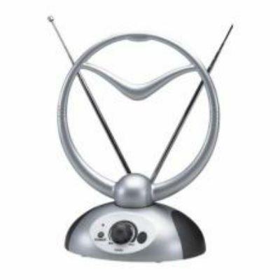 ТВ антенна Сигнал комнатная активная DVB-T и ДМВ+МВ SAI 219 016605