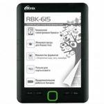 Электронная книга Ritmix RBK-615 009742