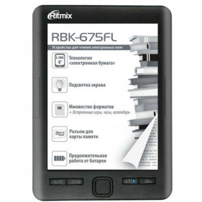 Электронная книга Ritmix RBK-675FL 019047