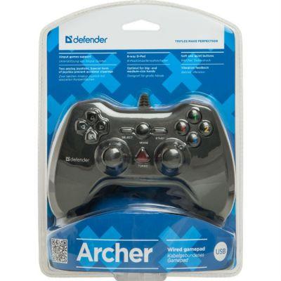 Геймпад Defender Archer USB-PS2/3