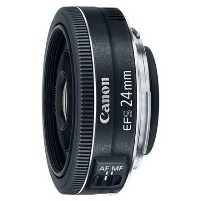 Объектив для фотоаппарата Canon EF-S STM 24мм f/2.8 9522B005