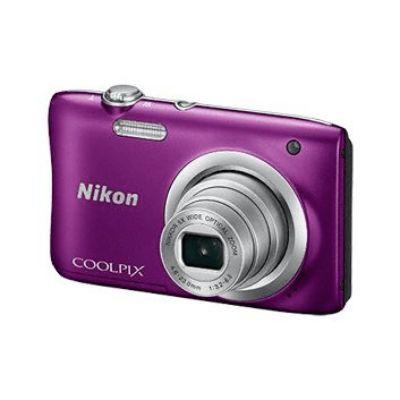 Компактный фотоаппарат Nikon A100 фиолетовый