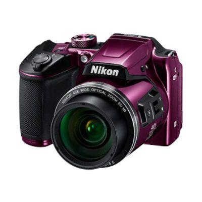 Компактный фотоаппарат Nikon B500 сливовый