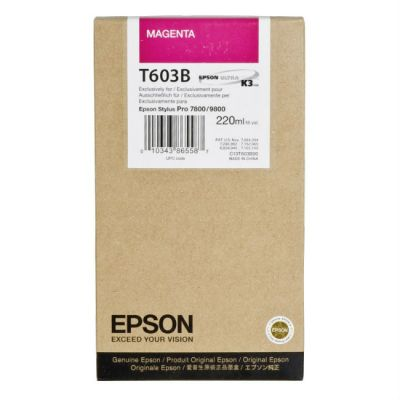 ��������� �������� Epson C13T603B00 ��� �������� Stylus Pro 7800/9800 ���������