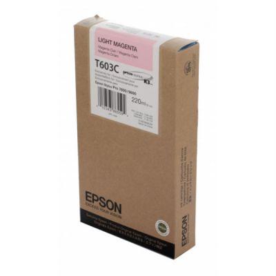 Расходный материал Epson C13T603C00 для принтера Stylus Pro 7800/9800 светло-пурпурный