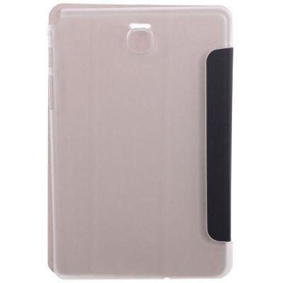 """Чехол IT Baggage для планшета Samsung Galaxy Tab A 8"""" hard case искус. кожа черный с прозрачной задней стенкой ITSSGTA8007-1"""
