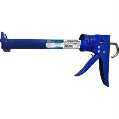КОБАЛЬТ Пистолет для герметика 310 мл, полукорпусной усиленный резак, решешок для переноски 244-018