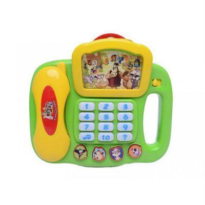 "Игрушка Roxy-Kids Умный телефон ""Уроки тетушки Совы"""