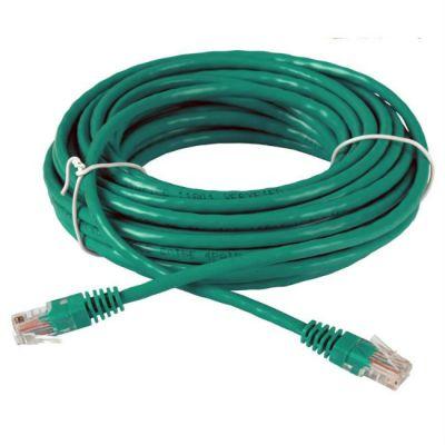 Кабель AOpen Patch cord (Патч-корд) литой UTP кат.5е 10м зеленый (ANP511_10M_G)