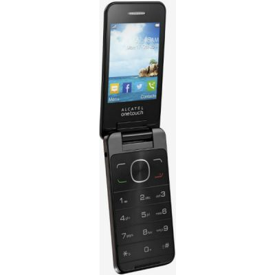 Телефон Alcatel One Touch 2012D Dark Chocolate 2012D-2AALRU1