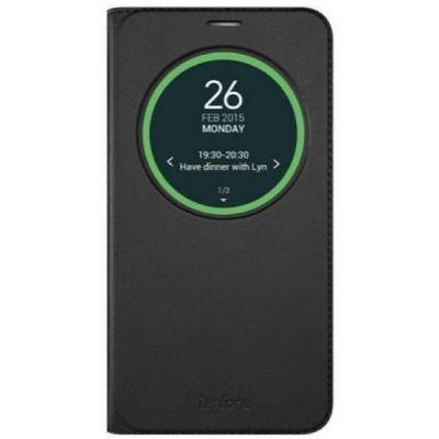 Чехол ASUS флип-кейс для Asus ZenFone Go ZB551KL View Flip Cover черный 90AC0170-BCV001