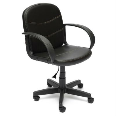 Офисное кресло Тетчер BAGGI кож/зам, (черный)