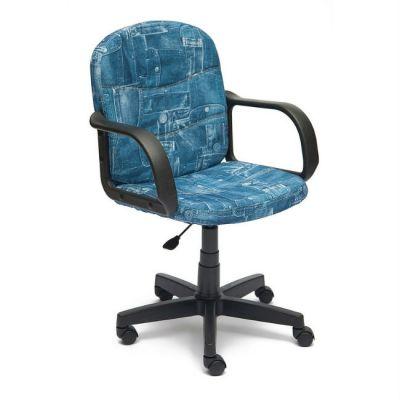 """Офисное кресло Тетчер BAGGI ткань, """"Джинса"""""""