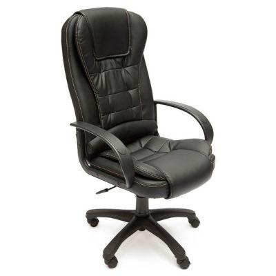 Офисное кресло Тетчер BARON ST кож/зам, (черный)