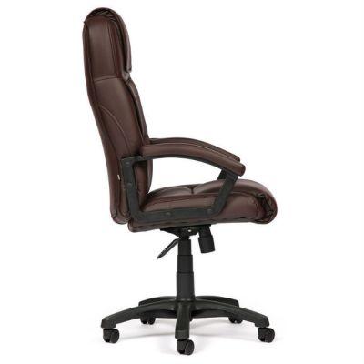 Офисное кресло Тетчер BERGAMO кож/зам, (коричневый)