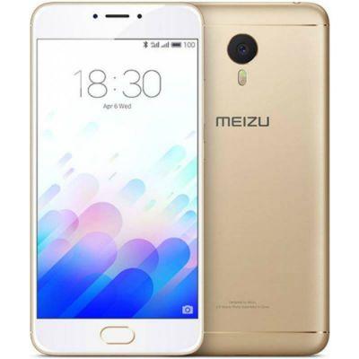 Смартфон Meizu M3 Note 16Gb Gold White 1194700