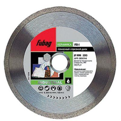 Диск Fubag алмазный D230 FZ-I 58321-6