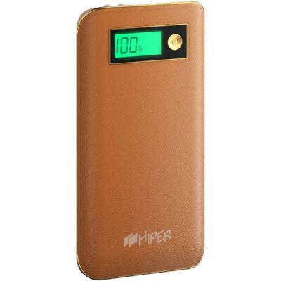 Аккумулятор Hiper USB 6500MAH коричневый XPX6500 BROWN