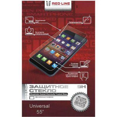 """Redline Защитное стекло для экрана 4.0"""" для смартфонов 4"""" 1шт."""
