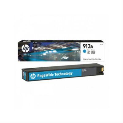 Расходный материал HP 913A Cyan (Голубой) F6T77AE