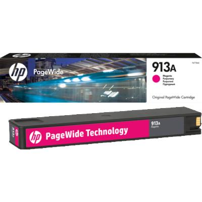 Расходный материал HP 913A Magenta (Пурпурный) F6T78AE