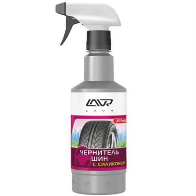 LAVR ��������� ��� � ��������� Black Tire Conditioner with silicone � ��������� (500��)