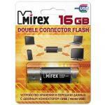 Флешка Mirex 16 Гб Smart black 13600-DСFBLS16