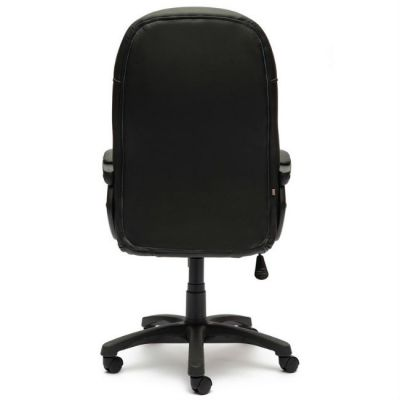Офисное кресло Тетчер BRINDISI ST кож/зам, (черный/красный/черный перфорированный)