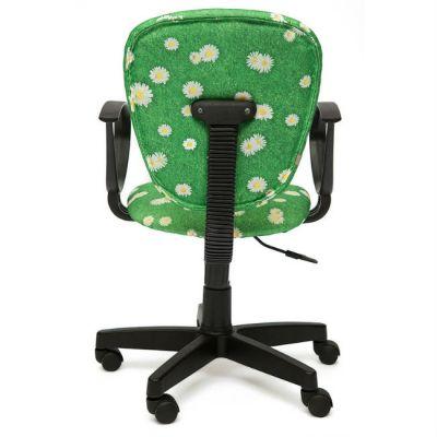 "Офисное кресло Тетчер СН413 ткань,""Ромашки на зеленом"""