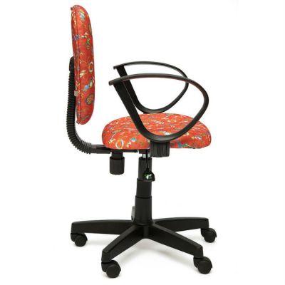 """Офисное кресло Тетчер СН413 ткань,""""Якоря на красном"""""""