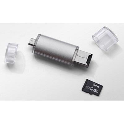 Флешка Mirex 8 Гб Smart silver 13600-DСFSSM08