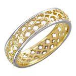Кольцо(без камня)желтое золото585 пробы,вес: 2,57 г