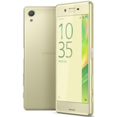 �������� Sony Xperia X F5121Lime_Gold