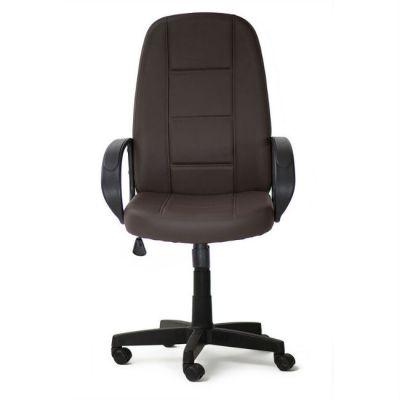 Офисное кресло Тетчер СН747 кож/зам, коричневый