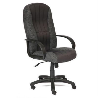 Офисное кресло Тетчер СН833 ткань, серый (сетка)