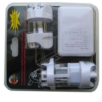 Зарядное устройство Espada Универсальное импульсное E-04UU, белый