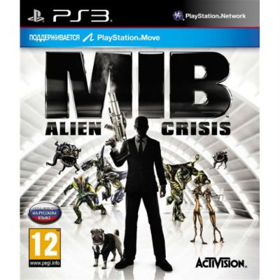 Игра для PS3 Men in Black: Alien Crisis (с поддержкой PS Move)