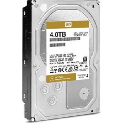 Жесткий диск Western Digital SATA-III 4000Gb Raid Edition , 7200rpm, 128MB buffer (Аналог WD4000FYYZ) WD4002FYYZ