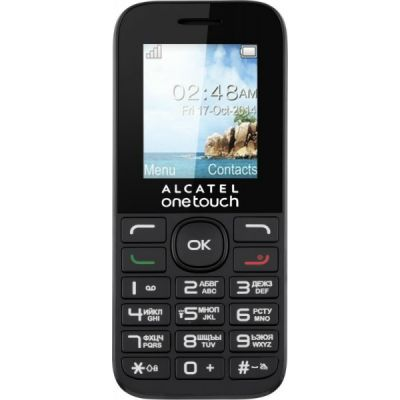 ������� Alcatel One Touch 1016D Black 1016D-3AALRU1
