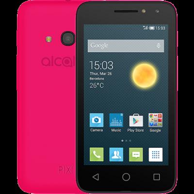 Смартфон Alcatel Pixi 4 4034D Розовый 4034D-2CALRU1