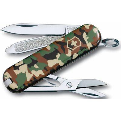 """Складной нож Victorinox Classic """"Камуфляж"""", пластик/сталь 0.6223.94"""