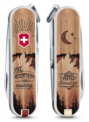 "Складной нож Victorinox Classic LE2016 ""The Mountains are Calling"" 7 функций (0.6223.L1604)"