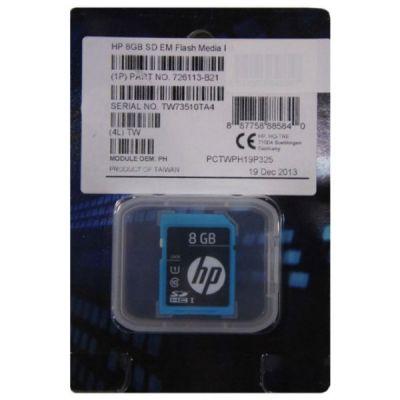 HP ����� ������ Enterprise Mainstream SDHC Class 10 UHS-I U1 8GB 726113-B21
