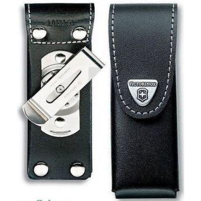 Чехол Victorinox кожаный для ножей, черный 4.0524.31