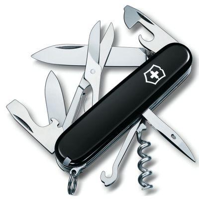 Складной нож Victorinox Climber 91мм 14 функций, черный 1.3703.3