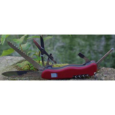 Складной нож Victorinox Outrider с фиксатором лезвия, 14 функций, красный 0.9023