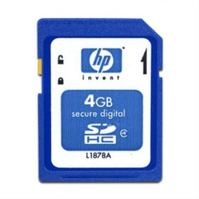 HP ����� ������ 4GB SD Flash Media Key Kit (to use with HP VMware ESXi) 580387-B21