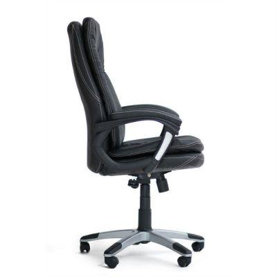 Офисное кресло Тетчер COMFORT кож/зам, черный